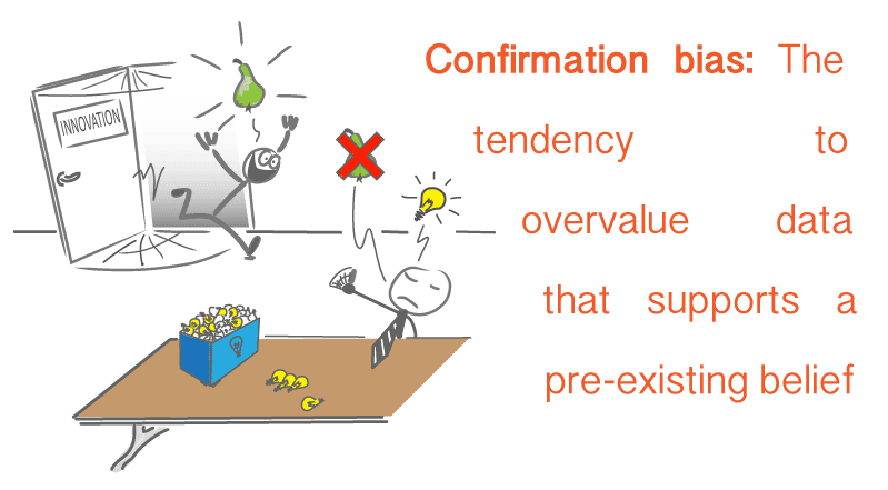 cartoon conformation bias