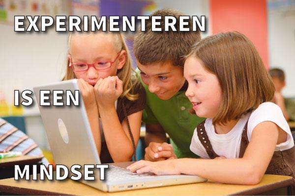 leergierige kinderen in de klas